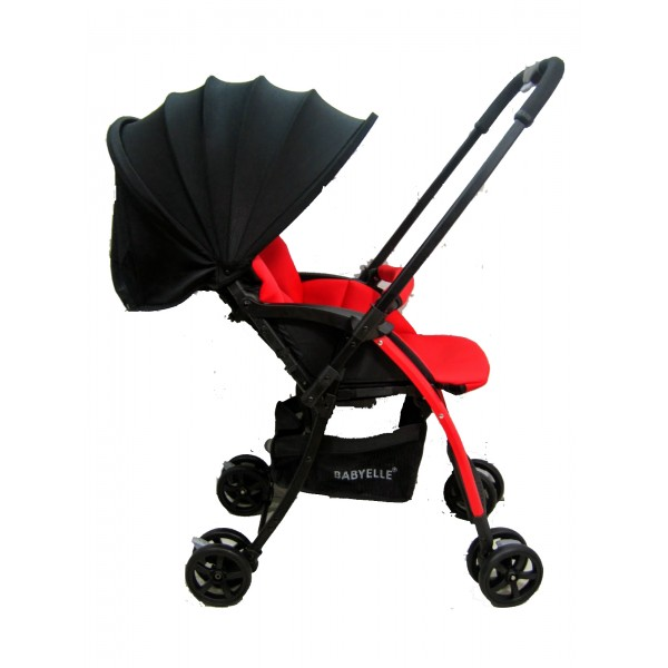002Stroller Baby Elle Citilite Merah Rp.110Rb/bln