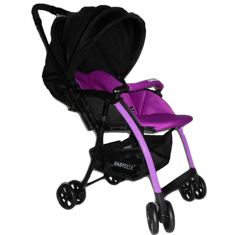 002Stroller Baby Elle Citilite Ungu Rp.110Rb/bln