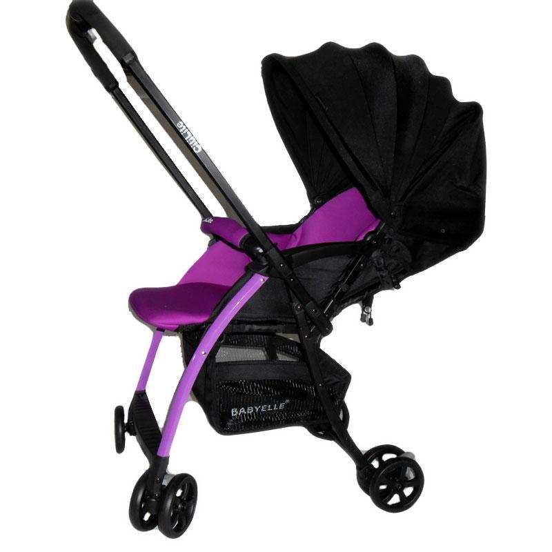 002Stroller Baby Elle Citilite Ungu2 Rp.110Rb/bln