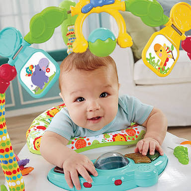 Jumperoo Space Saver Fisher Price Rp.150rb/bln