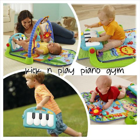 Kick n play piano gym Rp.90rb/bln