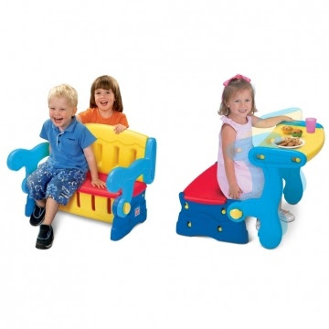 Sit n Munch storage bench Grow n up Rp.100rb/bln