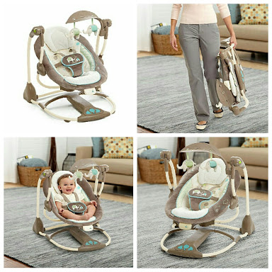 Ingenuity ConvertMe Swing 2 seat 150rb/bln