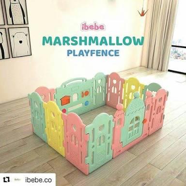 Playfence Ibebe Marshmellow Rp.185rb/bln
