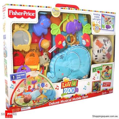 Playmate Luv zoo Fisher Price Rp.120rb/bln
