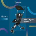 Stroller Cocolatte Isport Black Rp. 120rb/bln