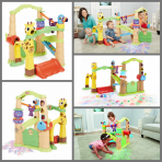 Activity Garden Little Tikes three House  Rp. 200rb/bln