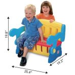 Grow n Up Sit n Munch Storage Bench Rp. 100rb/bln