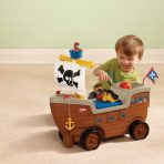 Little Tikes Play n Scoot Pirate Ship Rp. 100rb/bln