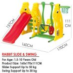 Slide Swing Ching Ching Rabbit Rp. 250rb/bln