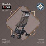 Stroller Cocolatte Pockit Recline Coklat Rp. 185rb/bln